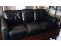 Leather sofa £30