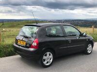 Renault Clio, Campus Sport, Black, 3-Door, Low Mileage, Manual, Full MOT history, Recently Serviced