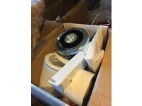 Fan and light shower ventilation kit brand new in box