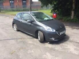 2014 Peugeot 208 active 1.0cc sat nav accident damaged not recorded guaranteed!!!!