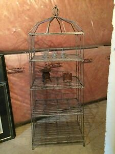Silver Wrought Iron Unit