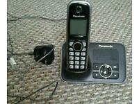 Panasonic landline phone with answer machine
