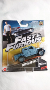 MATTEL FAST AND FURIOUS NAVISTAR MXT DIECAST FAST AND FURIOUS 6