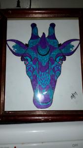 Colored picture