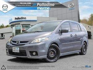 2007 Mazda Mazda5 GT + AS TRADED UNITS-LEATHER INTERIOR+ SUNROOF