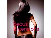 Hair Extensions- Micro Rings, Nano Rings, Fusion Bonds, Tape Weft, LA Weave - Fully Qualified