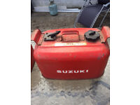 Two marine (boat) metal petrol tanks, in great condition