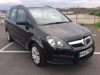 2008 VAUXHALL ZAFIRA AIR CON 7 SEATS E/ WINDOWS IDEAL FAMILY CAR 1 YR M.O.T 1 YR AA COVER FREE