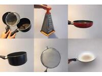 Cooking set - perfect for first time movers! Very reasonable price!