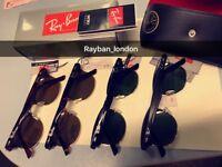 Best Rayban clubmaster new box bag case black gold aviator wayfarer sunglasses