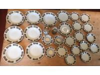 Stunning Vintage 30 Piece Royal Ceramics