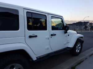 2014 White Jeep Wrangler SUV, Crossover