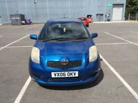 2006 TOYOTA YARIS 1.4 DIESEL 1 YEARS MOT GREAT CONDITION DRIVES LIKE A DREAM