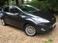 10 FORD FIESTA 1.6 TITIANUM 5DR GREY MET DRIVES AND LOOKS GREAT 12 MONTHS MOT