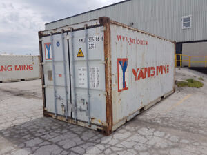 20' & 40' Storage & Shipping Containers