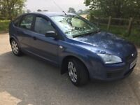 2006 Ford Focus 1.6 lx INTERMITTENT FAULT WITH IMMOBILISER 10 months mot £500 NO OFFERS