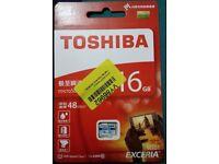 Toshiba MicroSD 16GB 48MB/s Exceria UHS-1 Class 10