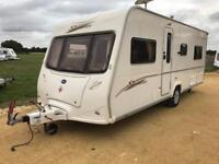 BAILEY SENATOR INDIANA SERIES 5 FIXED BED IN EXCELLENT CONDITION