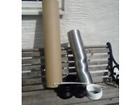 COOKER HOOD/DOMESTIC/TUMBLE DRYER DUCTING KIT PARTS