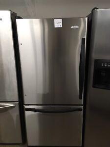 Whirlpool stainless steel fridge