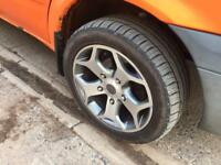 "5x160 ford transit wheels 18"" alloys with tyres"