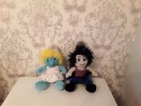 SMURFS Build A Bears ***Great Condition***