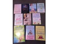 10 books Sophie Kinsella, Jane Green, Wendy Holden, Sheila O'Flanagan plus more