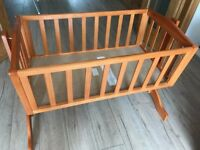 For Sale: Saplings Bethany Country Swinging Crib