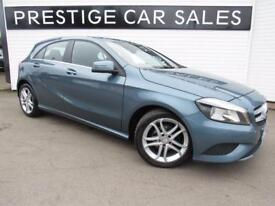 MERCEDES-BENZ A CLASS 1.5 A180 CDI BLUEEFFICIENCY SPORT 5d 109 BHP (blue) 2013