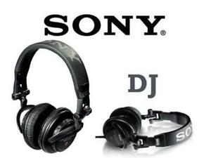 Sony MDR-V500DJ Monitor Series Headphones with Swivel Earcups