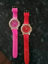 MICHAEL KORS STYLE RUBBER WATCHES (NEW)