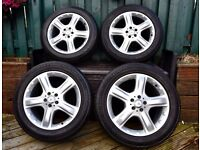 Mercedes ML 19 inch Alloy Wheels and Tyres