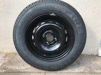 Tyre new Pirelli and wheel