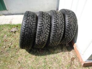pneus d'hiver 13 po