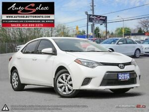 2015 Toyota Corolla ONLY 87K! **BACK-UP CAMERA** LE MODEL **C...