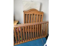Cosatto cot with mattress - free
