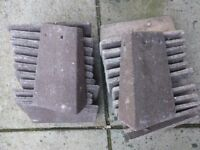 New Redland L/R Hand 90 Degree External Angle Hedgerow Brown Roofing Tile