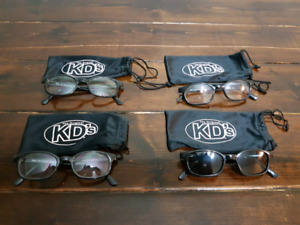4 Pairs of KD Motorcycle Glasses