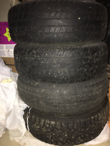 All season tires for quick sale! Moving sale