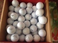 100.mixed golfballs in very good condition
