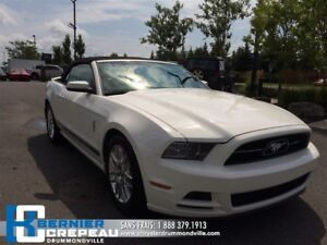 2013 Ford Mustang V6 Premium **CONVERTIBLE, PRISE AUX +WOW**