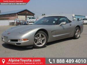 1999 Chevrolet Corvette 2DR CONV  Borla Exhaust - Convertible -