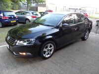 VOLKSWAGEN PASSAT 2.0 S TDI BLUEMOTION TECHNOLOGY 4d 139 BHP ONLY &p (black) 2014