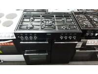 New graded Belling 90cm dual range cooker with 12 months guarantee