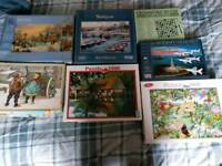 Joblot of jigsaw puzzles
