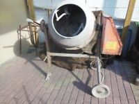 Cement Mixer for sale ( electric ) Make is AL-KO Top 1201