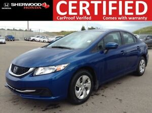 2014 Honda Civic LX | BLUETOOTH | HEATED SEATS | ONE OWNER