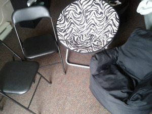 4 chairs -moving  sale