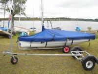 Topper Vibe X Sail No 8181 Approx 2010 with Combi trailer All excellent conditionn
