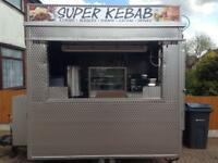Catering trailer, kebab van, food business, trailer